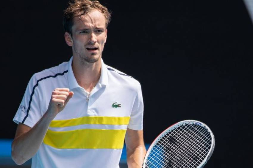 Даниил Медведев обыграл Андрея Рублева в четвертьфинале Australian Open